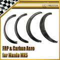 Car-styling Carbon Fiber Fender Flares For Mazda 1990-1997 MX5 Miata NA In Stock