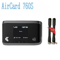 Unlocked New LTE 100M 4G Router With Sim Card Slot Sierra AirCard 760S 4G LTE Wireless Router, PK AirCard 754S 753S