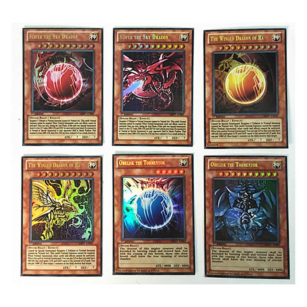 60 шт./компл. Yugioh Редкие флеш-карты Yu Gi Oh игра бумажные карточки детские игрушки девочка мальчик коллекция Yu-Gi-Oh карты Рождественский подарок игрушки