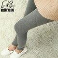 Barato Nueva Underwearw MS Marcas de Moda Sexy Grandes de Las Mujeres Grandes Algodón Color Sólido ocasional Más El Tamaño Grande Delgada Pantalones de Las Polainas grasa
