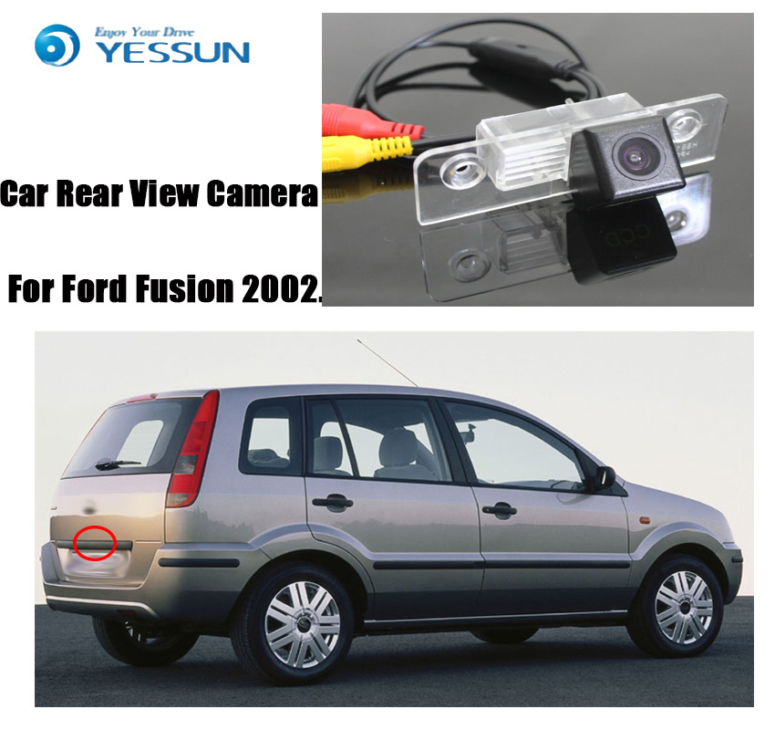 YESSUN For Ford Fusion 2002~2012  Car Reverse Parking Camera Rear View Camera  Backup Camera  HD CCD Night Vision