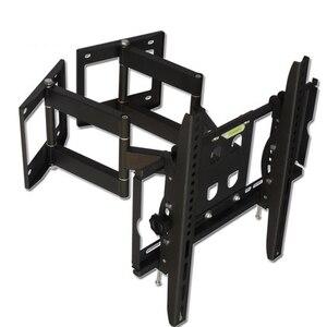 "Image 2 - 32 65 ""Heavy Duty Wand Ecke LED LCD TV Halterung Flexible Full Motion TV Schaukel Arm Halterung Decke montieren Last 100kgs EMP522MT"
