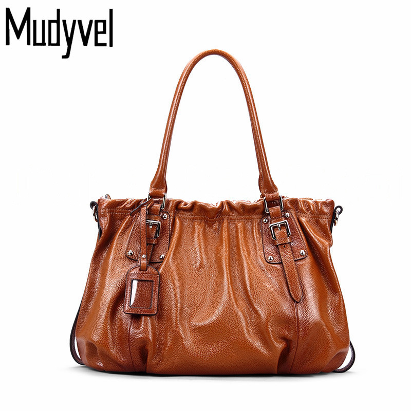 New Fashion Designer Brand luxury Women Handbags 100% Genuine Leather Cowhide ladies Shoulder bags Vintage Messenger Bag fashion leather handbags luxury head layer cowhide leather handbags women shoulder messenger bags bucket bag lady new style