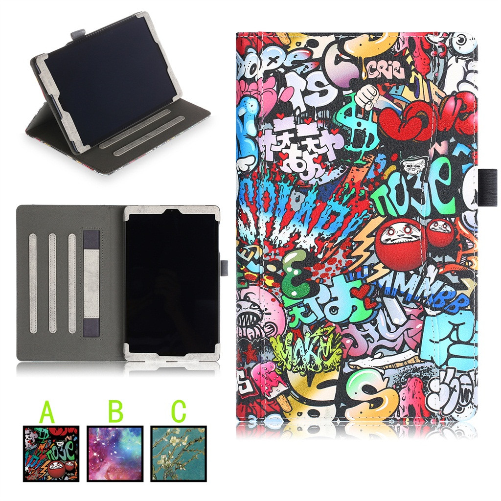 For Samsung Galaxy Tab A SM-T515/T510 10.1Inch 2019 Tablet Case Slim Stand Cover Dust-Proof Full-Coverage Color Protective Case