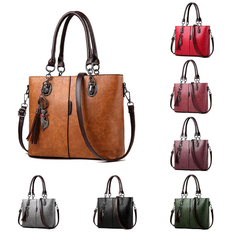 Women Handbag Shoulder Bag Messenger Hobo Tote Leather Ladies Purse Satchel Top Handle Bags