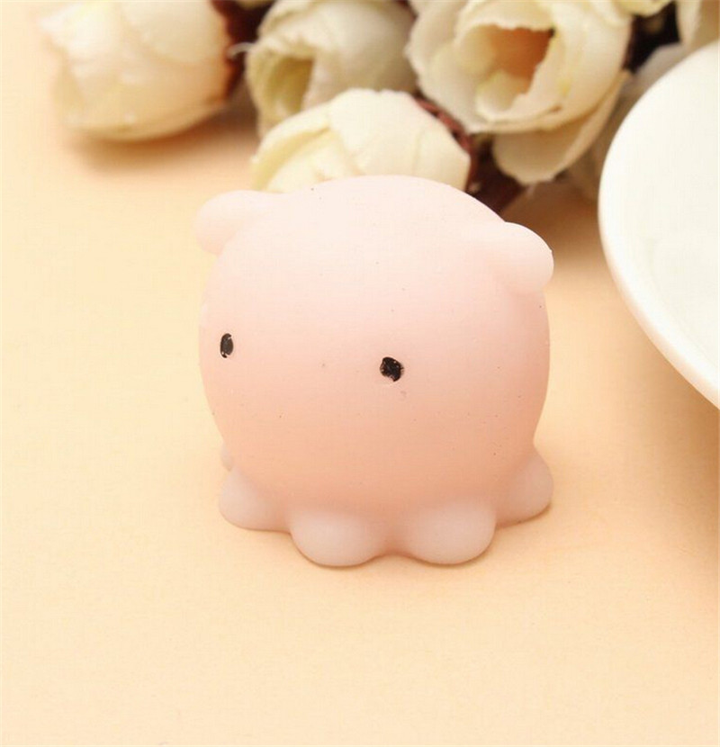 Bag Parts & Accessories 1 Pcs Squeeze Stretchy Cute Pendant Bread Cake Kids Toy Gift Kawaii Octopus Squishy Slow Rising Mini Bunny Bag Accessories