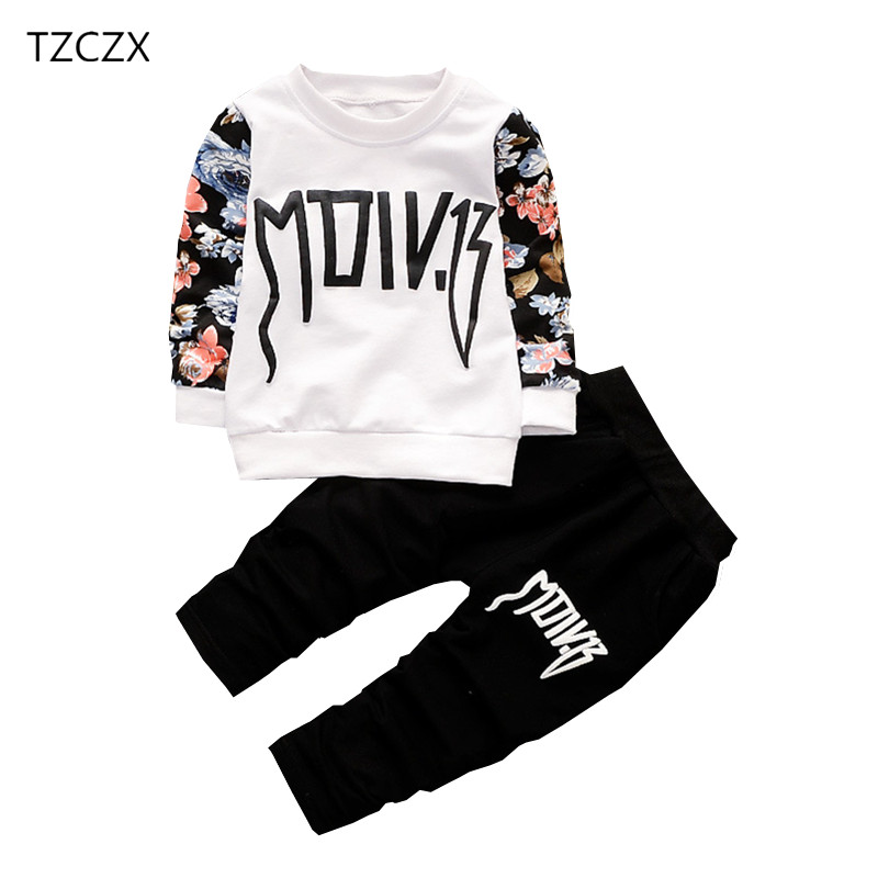 Tzczx New Children Baby Boys Sets Fashion Printed Tops+pants For 6 Month To 3 Years Kids Wear Clothes Clothing Sets Mother & Kids