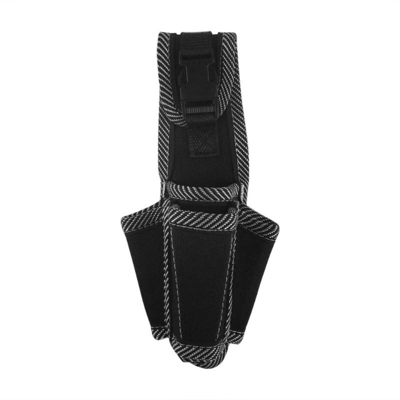 600D Polyester Fiber Twill Pocket Electrical Maintenance Waist Tool Bag Portable Hanging Toolkit Belt Pouch