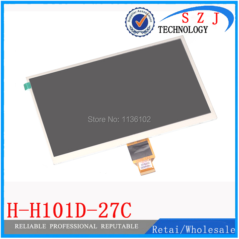Original 10.1 inch LCD display screen for H-H101D-27C HD tablet lcd calendar H-H10118FPC-C1 free shipping 5Pcs/lot