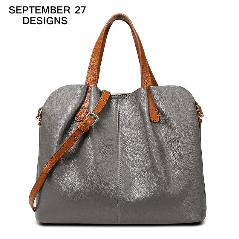 Women Handbags Genuine Leather Fashion Designs Tote Bags Ladies 100% Real Cowhide Large Capacity Shoulder Bag Crossbody BagsWomen Handbags Genuine Leather Fashion Designs Tote Bags Ladies 100% Real Cowhide Large Capacity Shoulder Bag Crossbody Bags