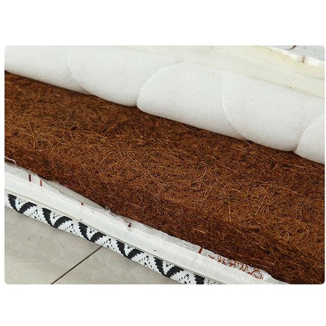 مرتبة تشبيرمور ثخن طبيعية من جوز الهند 0.9 متر تاتامي مفرد قابل للطي للطلاب لمفارش سرير الملك الملكة التوأم بالحجم الكامل