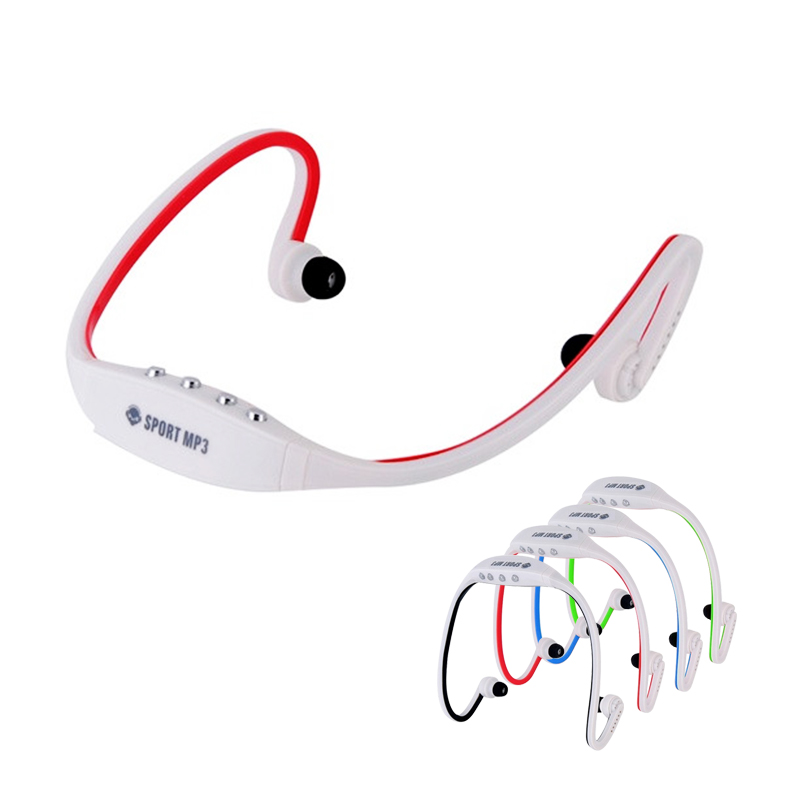 Portable Sports MP3 Music Player FM Radio Sports MP3 Headphone Support Microsd TF Card Wireless Sports Music Player Mp3 Player