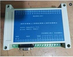 16 kanał analogowy wejście modułu akwizycji protokołu Modbus 4 przełącznik kanałów wejście modułu akwizycji 4 20mA|Części i akcesoria do instrumentów|   -