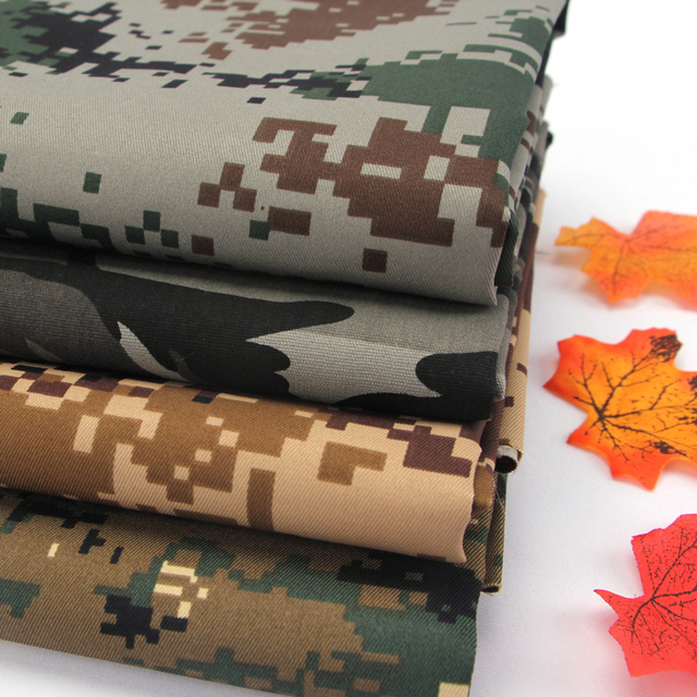 100CM *150CM Wide Polyester Cotton Camouflage Fabric Cloth Handmade Diy Pants Tent Backpack Handbag & 100CM *150CM Wide Polyester Cotton Camouflage Fabric Cloth ...