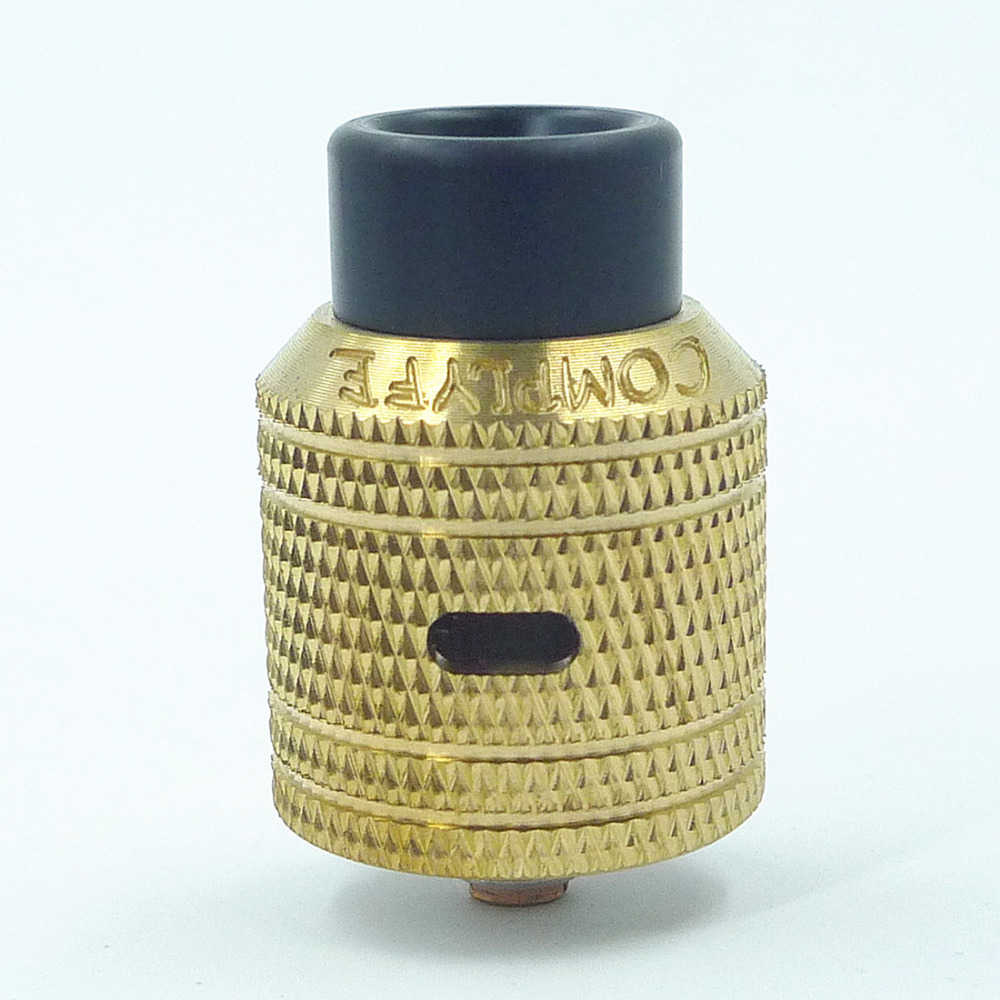 SXK Complyfe Battle V2 RDA Rebuildable Dripping Atomizer golden 24mm AFCSXK Complyfe Battle V2 RDA Rebuildable Dripping Atomizer golden 24mm AFC