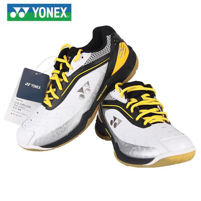 100% original Yonex super light SHB 65WEX 65EX Badminton Shoes YY  professional Power Cushion For Men And Women Non-slip Damping c5ace49f2b3bc
