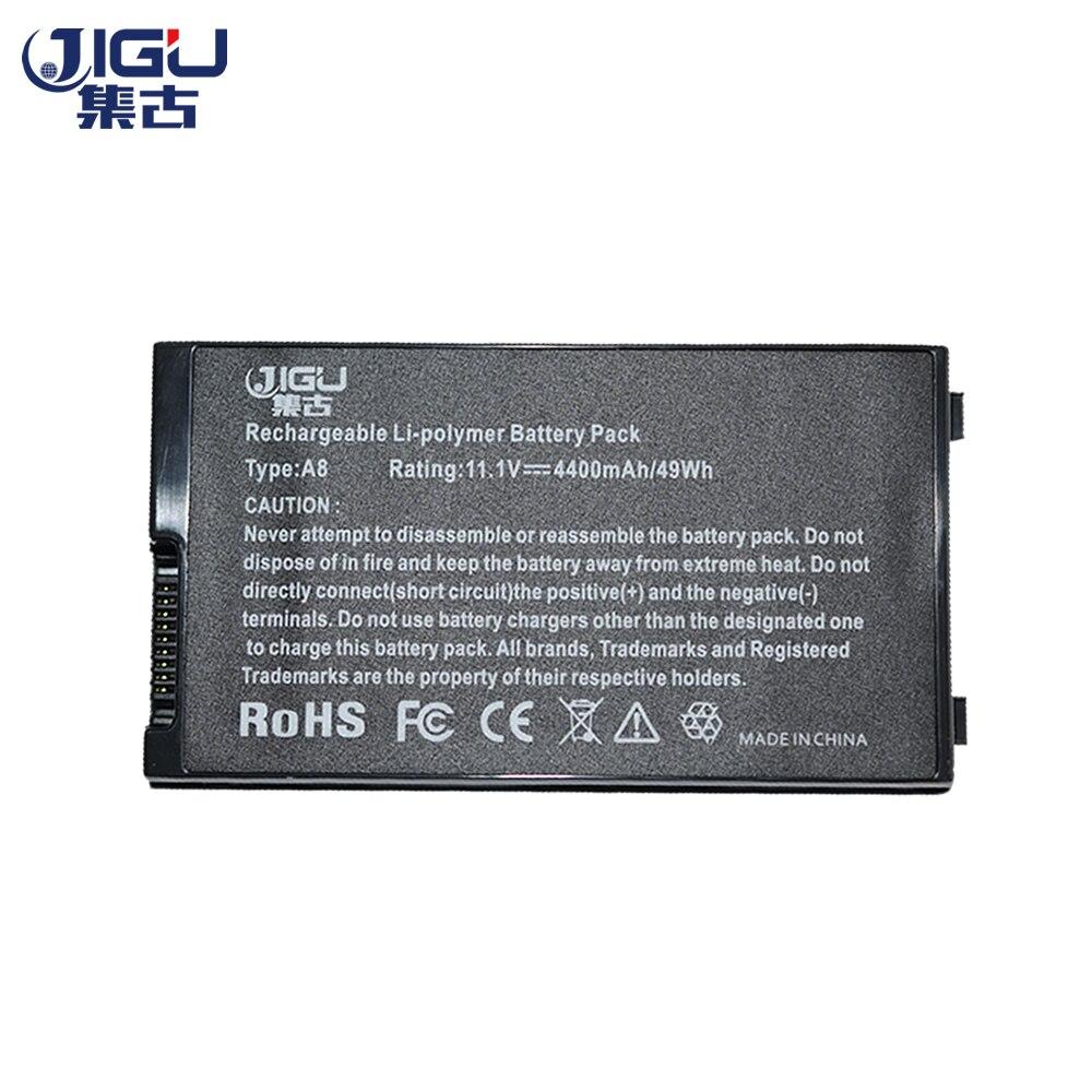 JIGU חדש 6Cells Laptop סוללה עבור Asus A8 A8000 F50 F80 - אביזרים למחשב נייד