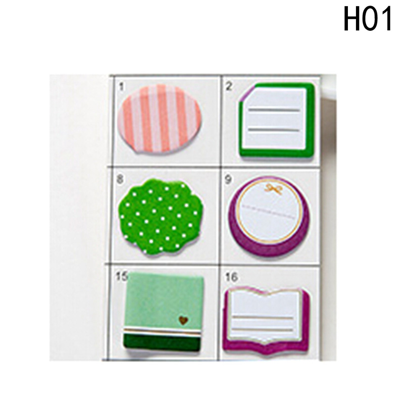 11.5X6.5cm Creative Combination Memo Pad Post Office School Supplies Notebooks Writing Pads Memo Pad