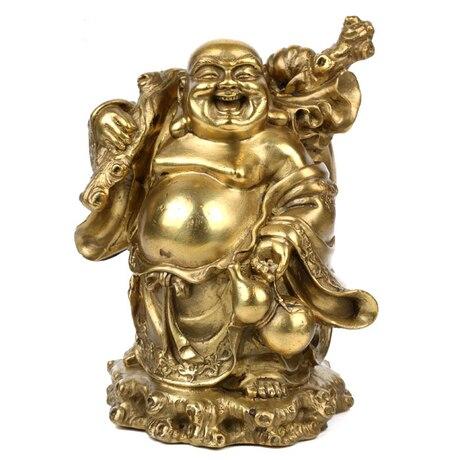 Luz, Feng Shui, Buda de cobre Maitreya, estatua de Buda, adornos, figura, budista, paz, riqueza, artesanías de budismo, estatuilla ~-in Estatuas y esculturas from Hogar y Mascotas    1