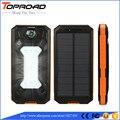 Солнечная Энергия Банк 10000 мАч Dual USB LED Powebank Pover Банк Солнечное Зарядное Устройство Внешнего Аккумулятора Резервного Питания Для Мобильного Телефона Кемпинг SOS