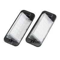 2x 18smd Error Free LED Number License Plate Lights For BMW E36 318i 328i M3 Sedan
