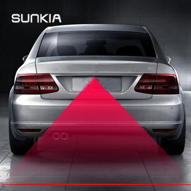 SUNKIA Auto & Motorräder Laser Nebel Lampe Anti-Nebel Hinten Erwärmung Licht Für KIA Hyundai Ford Mazda VW Skoda suzuki mit Neue Muster