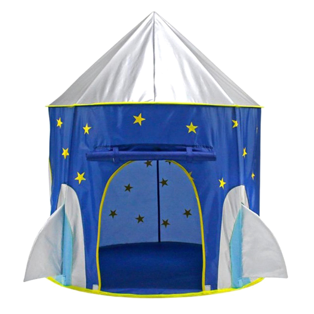 Folding Portable Pop Up Playhouse Star Printed Space Capsule Tent Ball Pit Play Tent Kids Indoor u0026 Outdoor Toy Blue  sc 1 st  AliExpress.com & Folding Portable Pop Up Playhouse Star Printed Space Capsule Tent ...