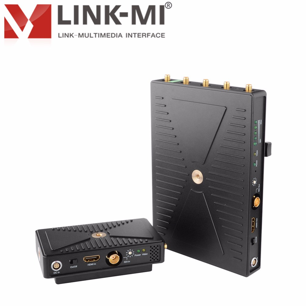 LINK-MI LM-SWHD01 300m WHDI 5GHz HDMI extenter Video Transmission System HDMI / SDI signal Uncompresse wireless transmission