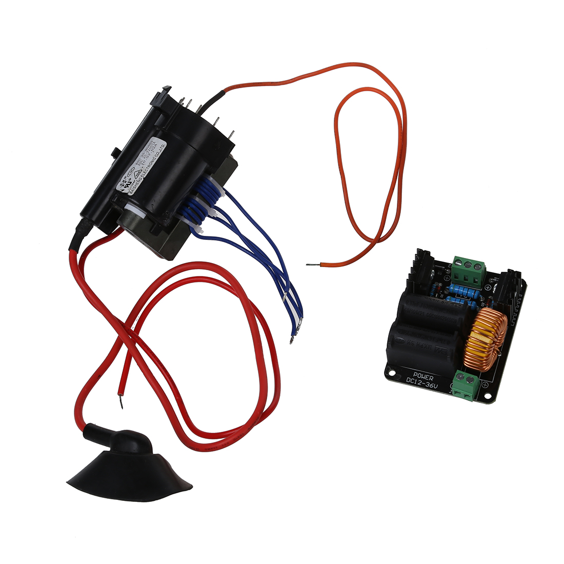 hight resolution of 12v 36v zvs tesla coil flyback driver marx generator jacob s ladder ignition coil in signal generators from tools on aliexpress com alibaba group