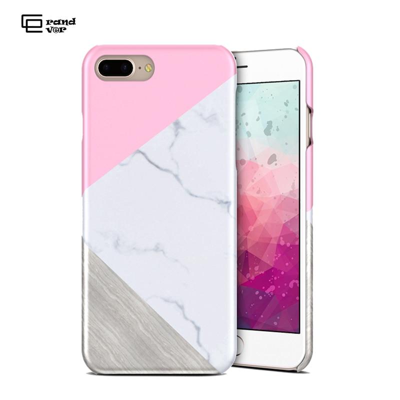 Mode marmor telefon fodral för iphone 7 6 6s plus nytt mode - Reservdelar och tillbehör för mobiltelefoner