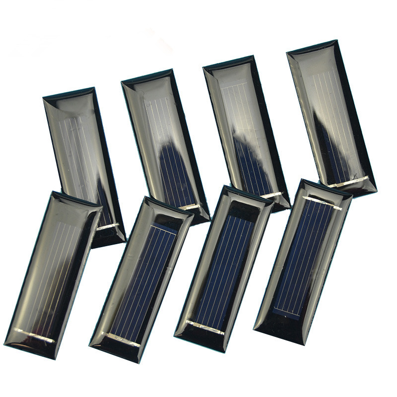 Mini 1 PCS 0.5V 130MA Solar Panel Epoxy Panel Polycrystalline Solar Panel Solar Module DIY Recharger