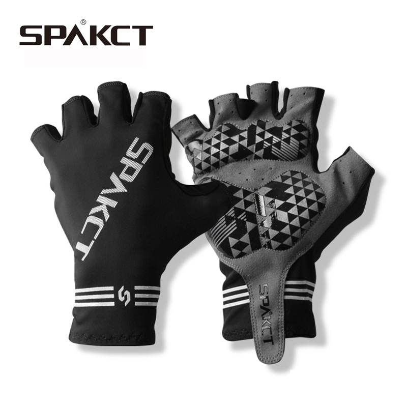 SPAKCT Cycling Gloves GEL Pad Guantes Ciclismo Bicycle Gloves Lengthen Microfiber Leather Elastic Bike Gloves Gants Velo racmmer cycling gloves guantes ciclismo non slip breathable mens