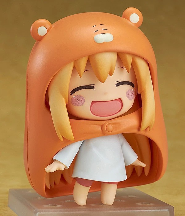 2016 New 10cm Lovely Smile Nendoroid Manga Comic Anime Himouto Umaru Chan Super Cute Action Figure anime himouto umaru chan umaru doma casual dance pants lovely fashion school backpacks for girls canvas