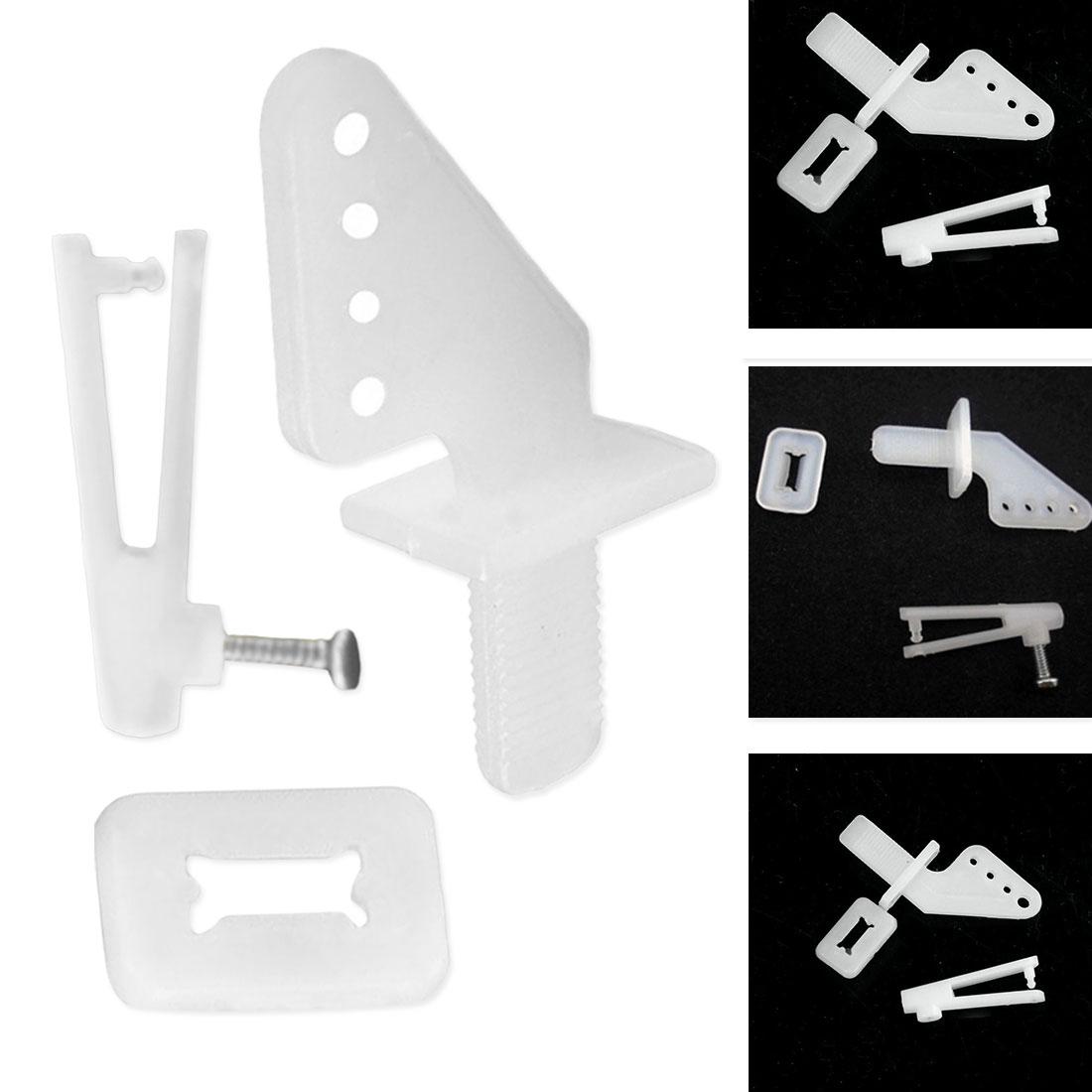 10set/lot KT rudder angle four-hole + quick adjustment rocker foam chuck Airplane Parts Aircraft