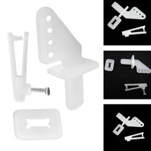 10set/lot KT rudder angle four-hole + quick adjustment rocker foam chuck Airplane Parts Aircraft