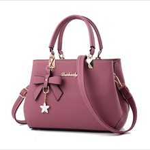 купить Women PU Leather Handbag Ladies Large Tote Female Square school Shoulder Bag Bolsas Femininas Sac Fashion Crossbody evening Bags дешево
