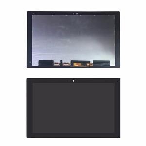 Original desmontar lcd painel da tela de toque digitador assembléia para sony xperia z4 tablet sgp771 sgp712 montagem da tela