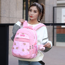 kids schoolbags for girls orthopedic waterproof backpack bookbags children capacity primary escolar satchel mochila infantil zip