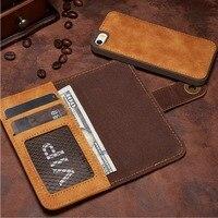 Long Steven For IPhone 5 Case Unique Detachable Leather For IPhone SE Case Wallet Filp