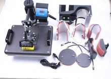7 in 1 Combo heat transfer machine for t shirt mug hat plate printing sublimation transfer