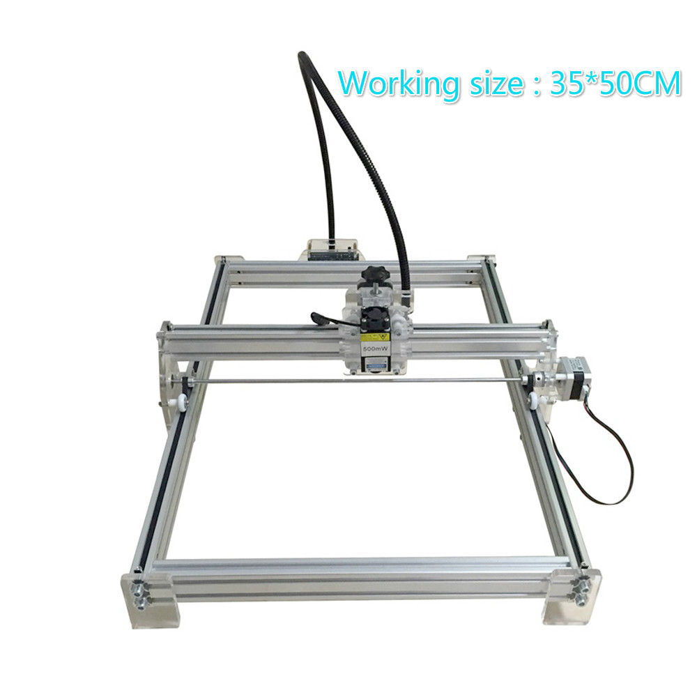 15W Working Area 35 50CM DIY Laser Engraving Machine For Toy Laser Cutting Machine 15000MW Laser
