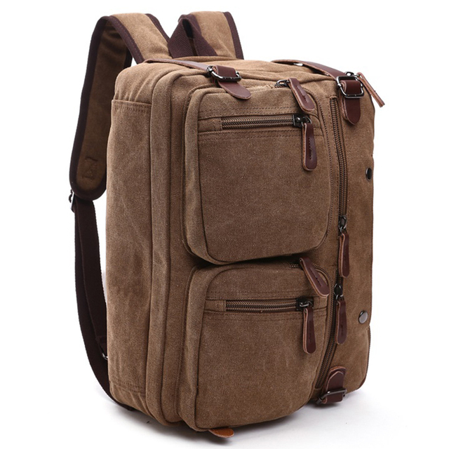 Men Handbags Laptop Shoulder bags Crossbody Men Messenger Bag Canvas Large Capacity Vintage Travel Bags 2