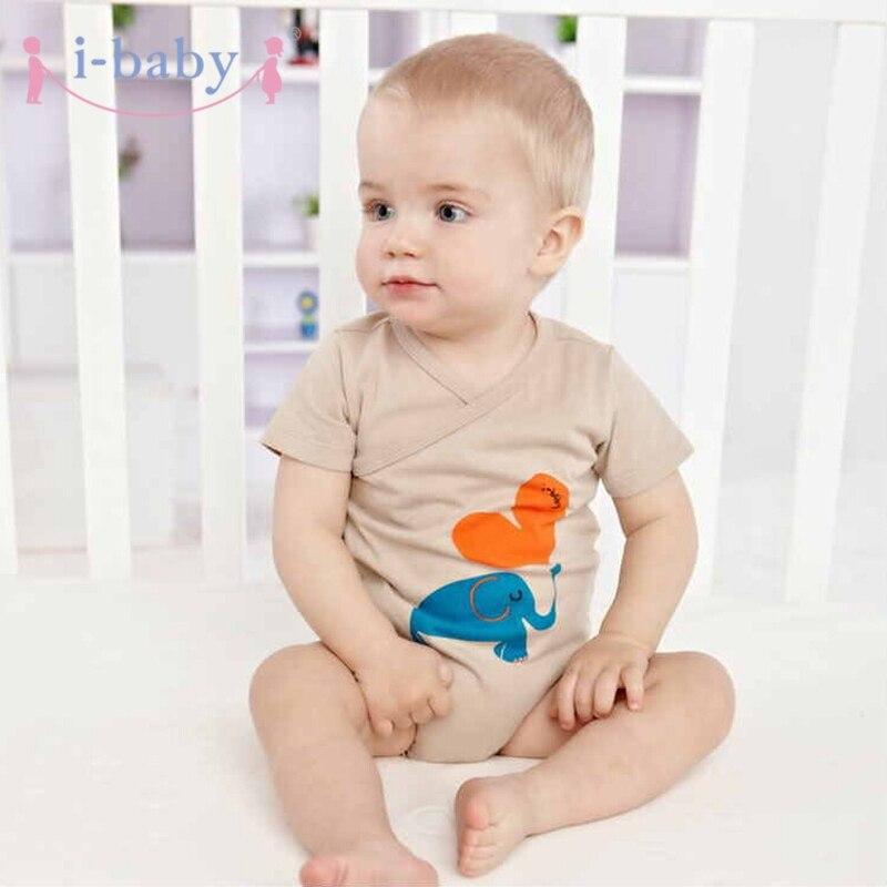 i-baby Baby Romper újszülött csecsemő ruhák fiú lány Rompers - Bébi ruházat