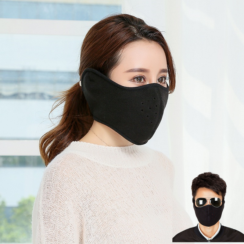 Dustproof Neoprene Neck Warm Half Face Mask Winter Sport Accessories Windproof Bike Bicycle Cycling Snowboard Outdoor Masks
