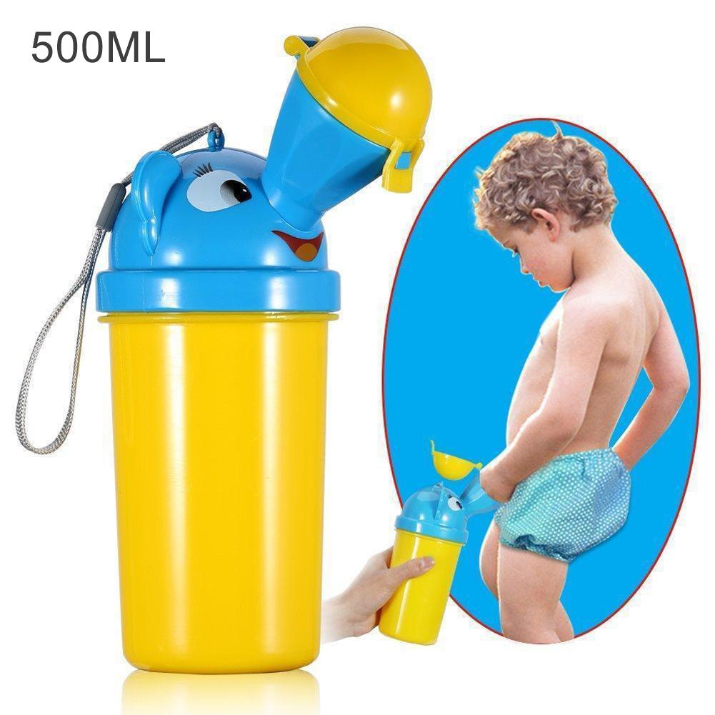 Portable Baby Leakproof Urinal Travel Toilet Camping Boy Girl Potty Outdoor Training Pot Kids Convenient Toilet Training Potty