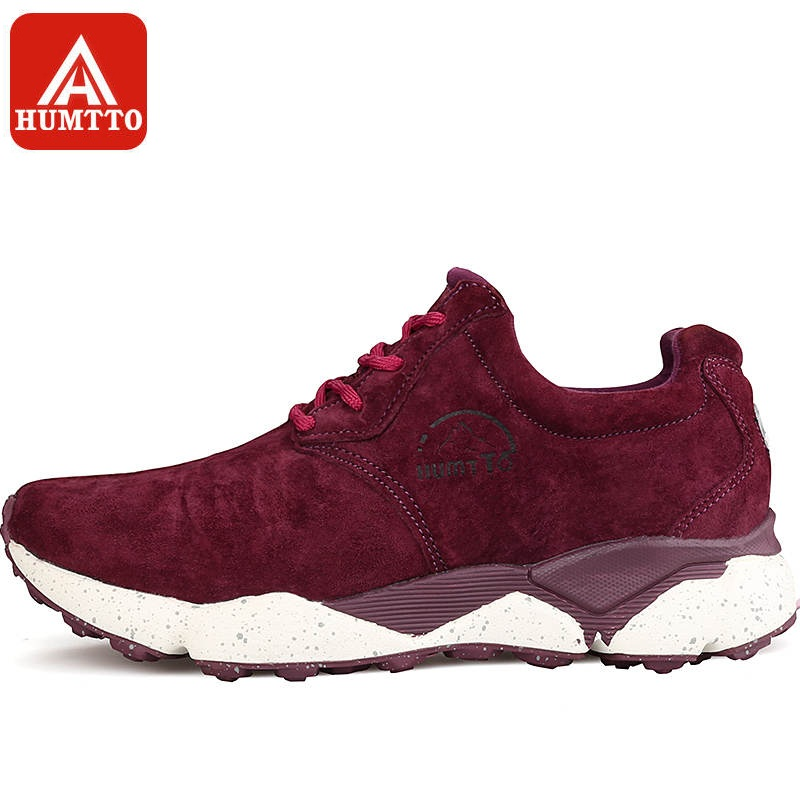 HUMTTO Running Shoes Women Light Sports Shoes Outdoor Low Cushioning Genuine Leather Breathable Sneakers hot sale 2017 light winter running shoes for women cheap sneakers genuine leather breathable sport low dmx outdoor athletic