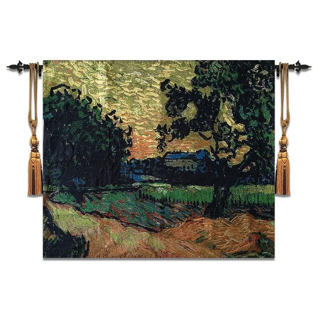 100x120cm Tapestry Wall Hanging Belgium Art Moroccan Decor