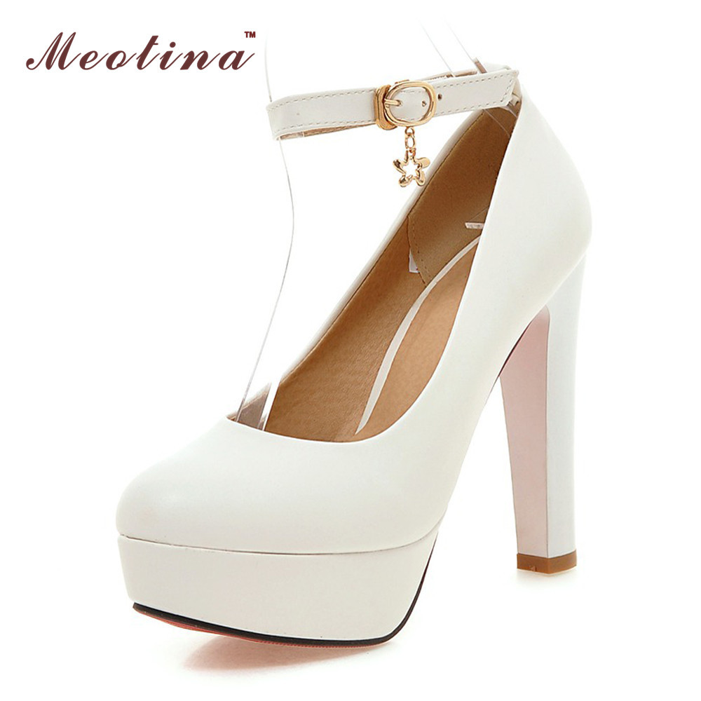Online Get Cheap White Ankle Strap Pumps -Aliexpress.com | Alibaba ...