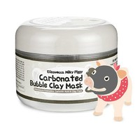 Hot Milky Piggy Carbonated Bubble Clay Mask 100g Remove Blackhead Acne Purifying Pores Face Care