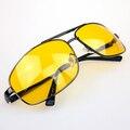 2016 самых продаваемых мужская летняя повседневная очки стекло Ночного Вождения Очки С Антибликовым Покрытием Видение Безопасности Водителя Солнцезащитные Очки